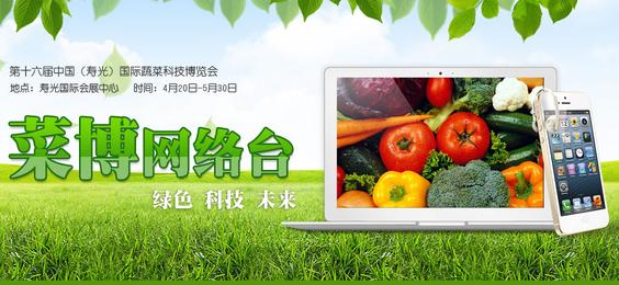 菜博网络台视频直播:第十六届寿光菜博会