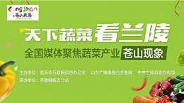 """齐鲁网融媒体直播:全国媒体聚焦蔬菜产业""""苍山现象""""采风活动"""