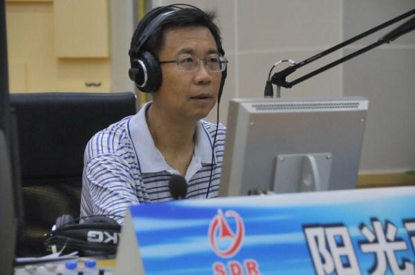 8月24日山东省文化厅做客《阳光政务热线》