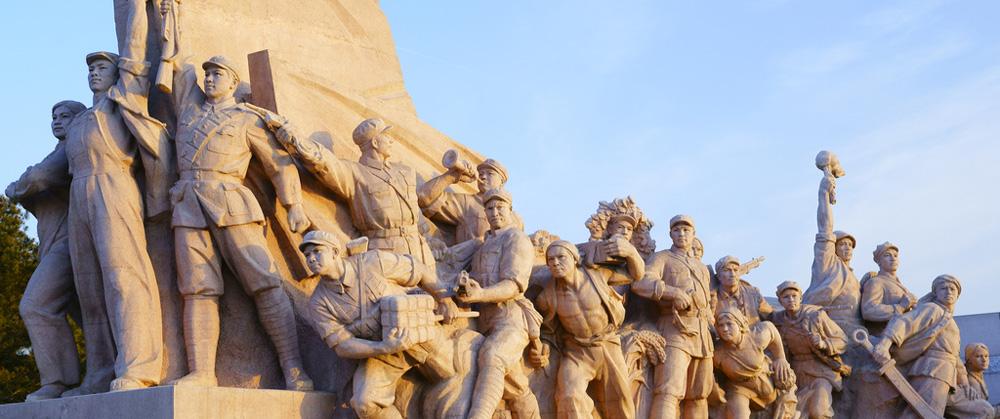 9月30日上午党和国家领导人向人民英雄敬献花篮