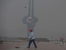 """济南立夏来首现严重污染天气 市民抱怨""""空气呛嗓"""""""