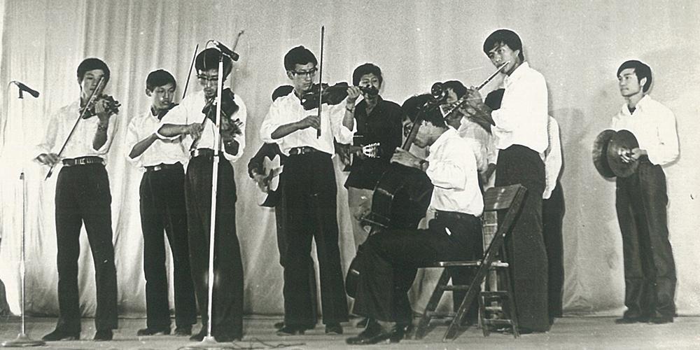 老照片:上世纪80年代山东轻工业学院黑白照片唤醒记忆