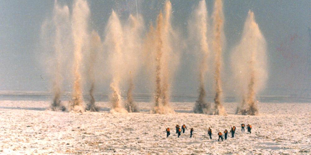 山东人民治黄70年:老照片见证黄河历史变迁