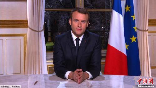 法国总统马克龙新年贺词:2018继续进行深入改革