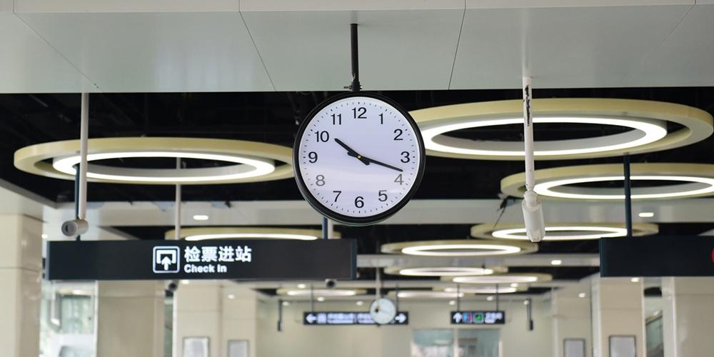 青岛地铁11号线试运行 设计时速达120公里