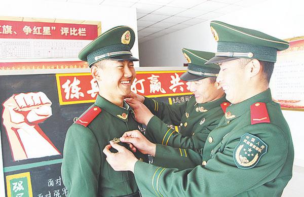 00后新兵请入列结束新兵连训练开始驻守淄博