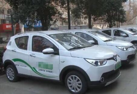 元旦假期市民尝鲜共享汽车 有人开它去了淄博