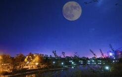 """2日晚可赏""""超级月亮"""" 淄博为晴转多云天"""