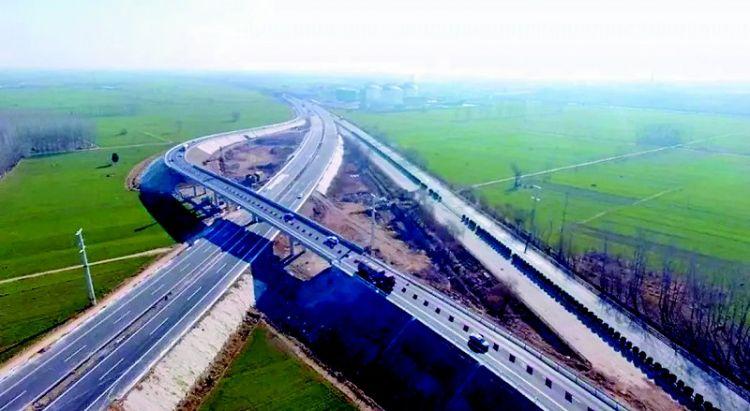 东明黄河公路大桥连接线工程交工验收