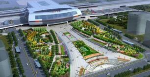 淄博高铁新城规划总用地20多平方公里