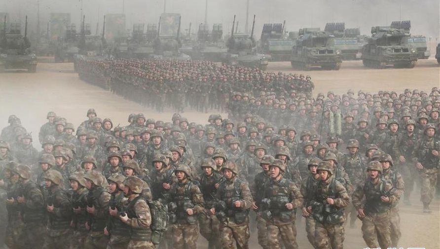 新起点新气象 2018中国军队新年开训全景大扫描