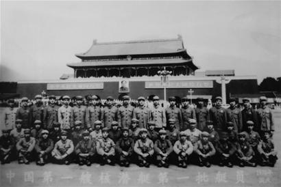 """老兵赴青岛为中国首艘核潜艇过""""生日"""""""