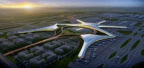 """青岛新机场要当全国第一个""""海绵机场"""""""