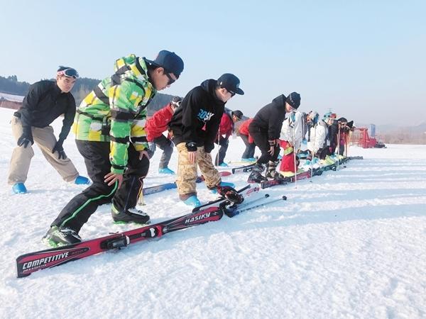 【体坛资讯】省局首办退役运动员滑雪国职培训