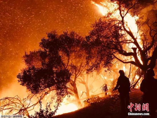 火灾之后又遇暴雨:美国加州爆发泥石流致13人死亡