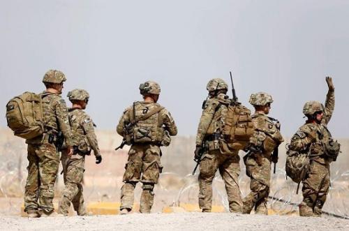 资料图:美军士兵(图片来源:路透社)