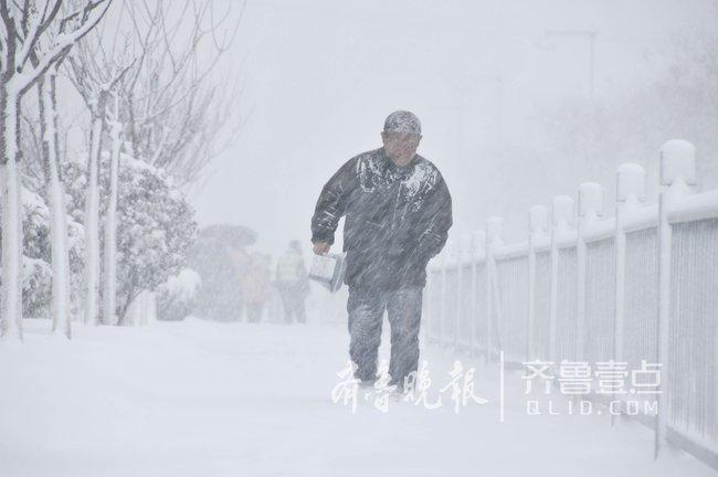 注意!威海北部普降暴雪,海陆空交通全部受阻