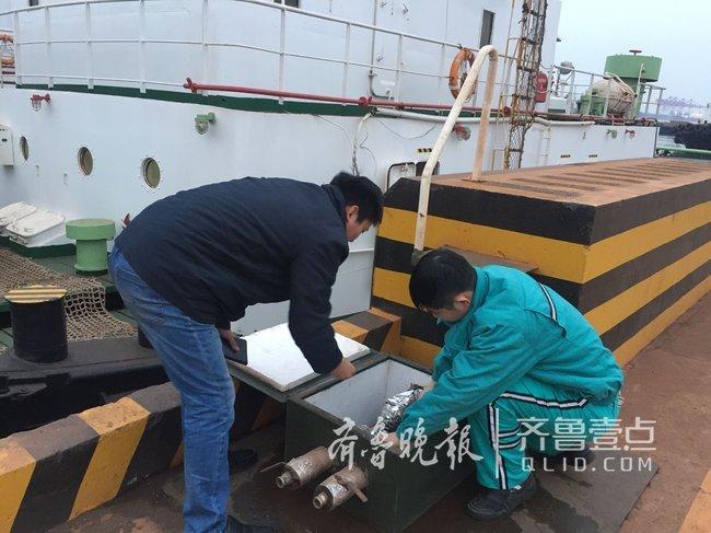 日照港轮驳公司开展机电设备冬季安全检查