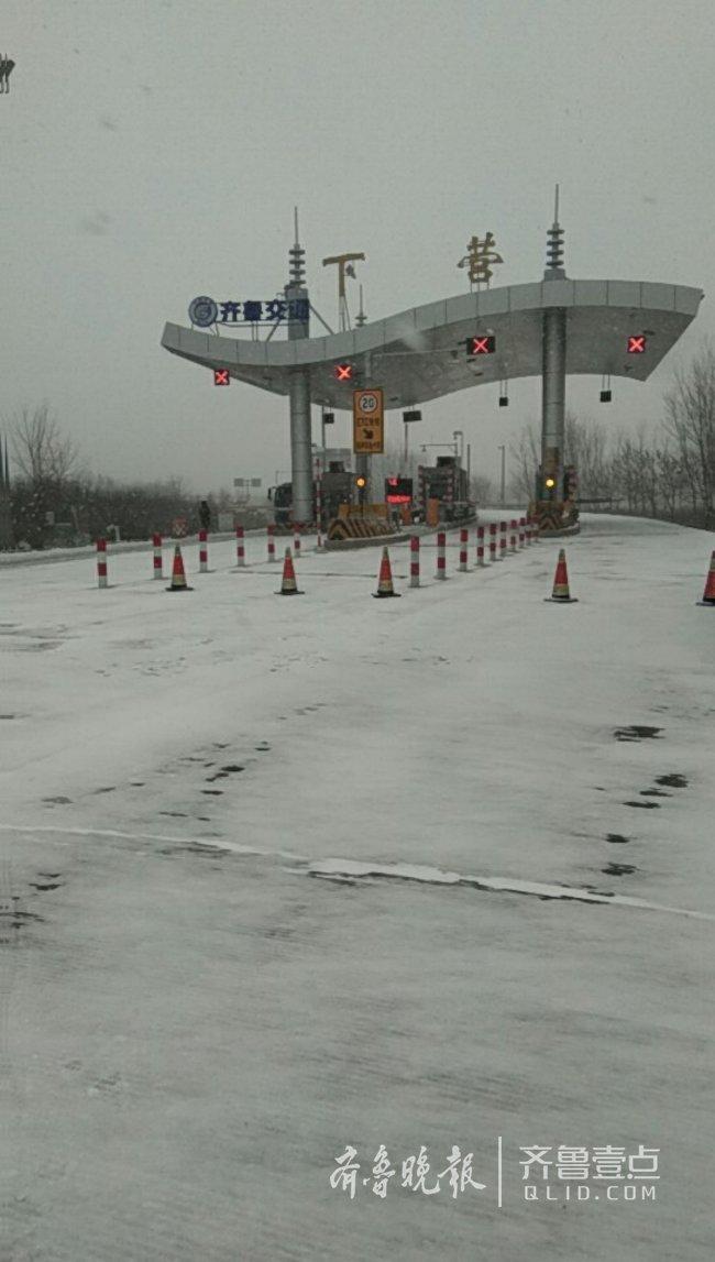 大雪来袭!潍坊辖区多处高速封闭,司机开车注意安全
