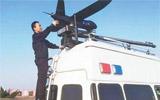济青高速交警启用警用无人机巡逻