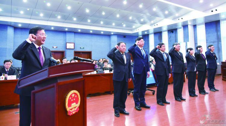 市十八届人大常委会举行第八次会议 韩建亭主持