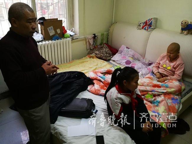 姐姐患白血病,10岁女孩济南街头严寒中卖枣救姐