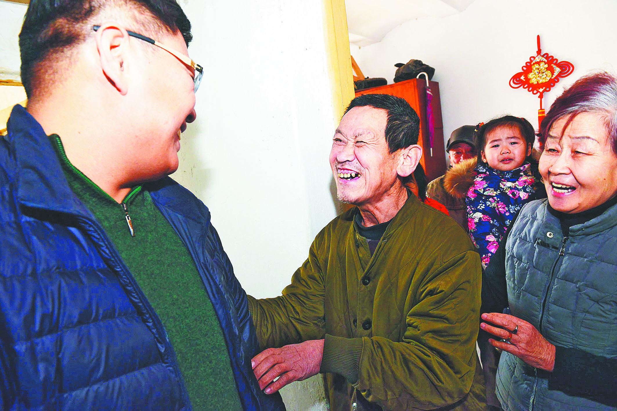 淄博市救助管理站帮六旬济南男子找到家