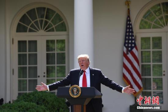 """特朗普撤销对伊朗制裁 警告称系""""最后一次"""""""