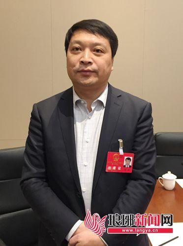 """面复议案建议:推动鲁南、临连、济莱临三""""铁""""相连"""