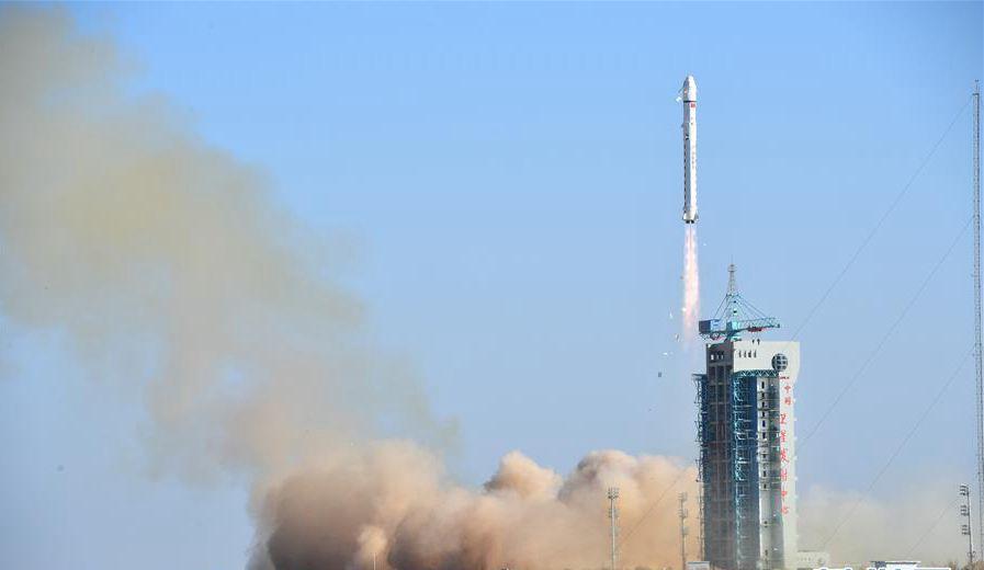 我国成功发射陆地勘查卫星三号