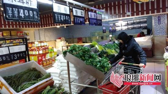 受气温下降、雨雪天气影响 临沂菜价连续四周上涨