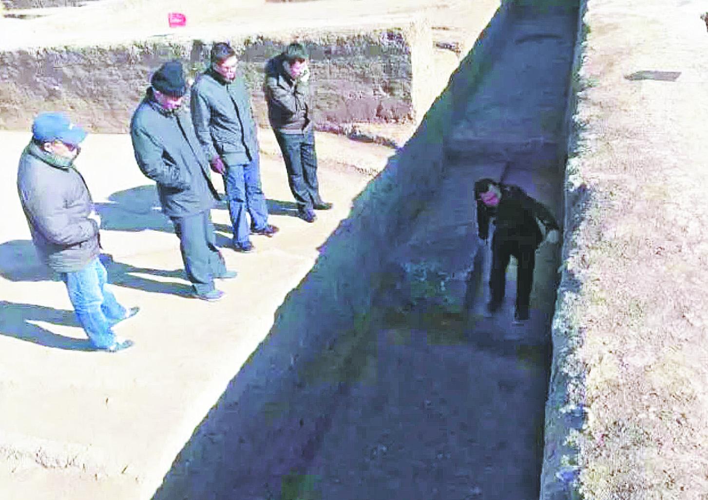 临淄齐国故城新发现一座战国时期城门