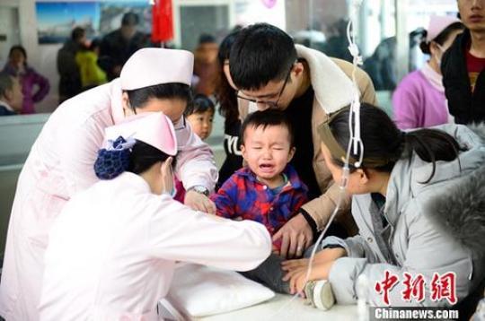 北京流感活动强度趋缓 低龄患儿占比最高