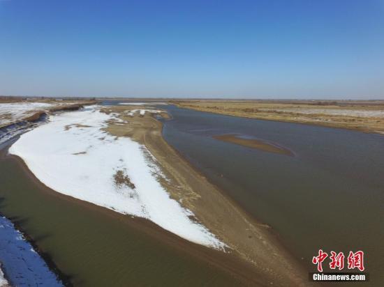黄河冰封813千米 全面进入凌汛期