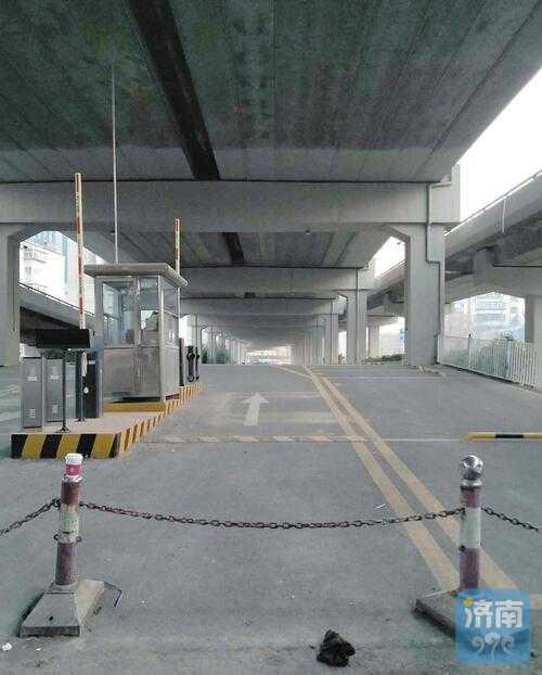 闲置了半年多,济南顺河高架下停车场何时启用?
