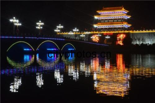 聊城水上古城新春灯会将于2月8日闪亮登场