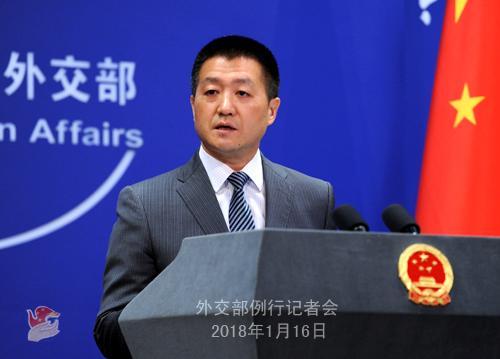 """外交部:中方救援""""桑吉""""号不力的说法不符合事实"""