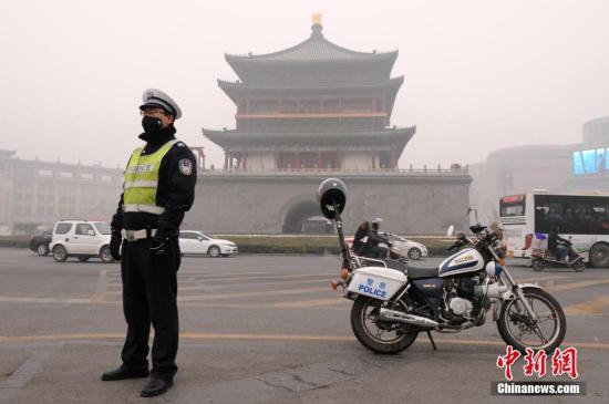西安发布重污染红色预警 幼儿园小学初中停课