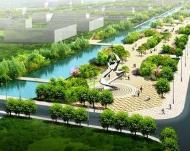 淄博高新区带状公园5月开园 综合服务中心下半年投用