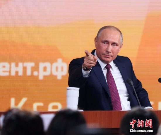 俄罗斯2018总统选举 最新民调显示普京支持率遥遥领先