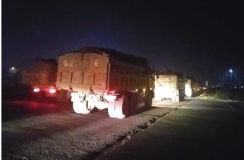 泰安交警4小时查获36辆超载大货车