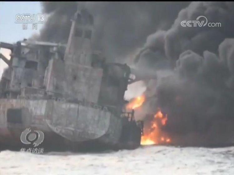 史无前例的国际大救援!中方八天搜救桑吉轮全纪录