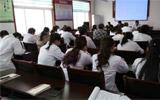淄川区昆仑中心卫生院举办流感防控知识培训班
