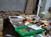 """淄博两年捣毁62个食品制假""""黑窝点"""""""