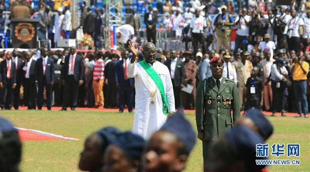乔治·维阿当选总统 利比里亚将开启全新征程