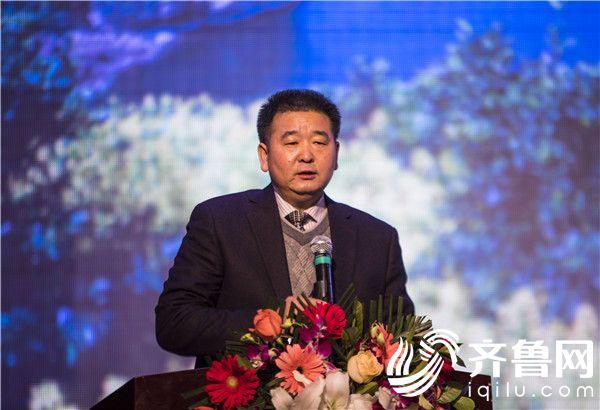 湖北省旅游发展委员会市场促进处二级调研员姚明喜讲话 王陆见 摄