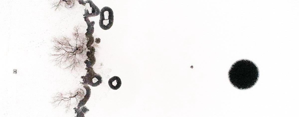 最美山东|传神! 白雪勾画出最具中国风的水墨邹平