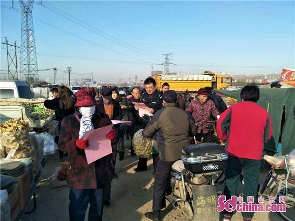 潍坊清池派出所多措并举 提升群众安全感满意度