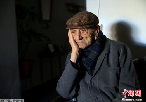 世界最长寿男性在西班牙去世享年113岁 曾参战(图)