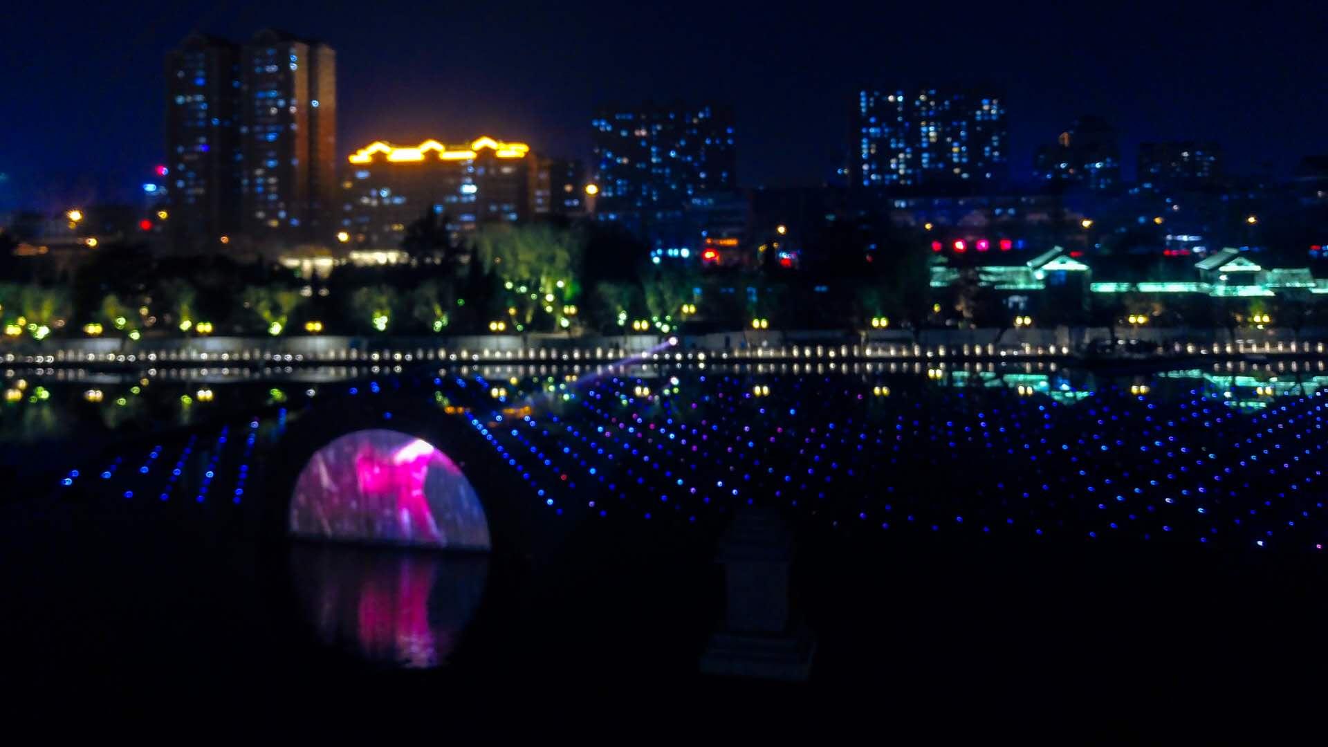 最美山东|航拍明湖水景喷泉 美轮美奂惊艳泉城